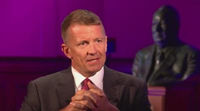 Transcript: Erik Prince on Iraq, privatising wars, and Trump
