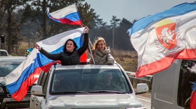 Russia marks five years since annexation of Ukraine's Crimea