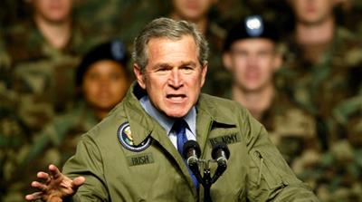 Why did Bush go to war in Iraq?