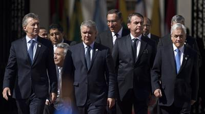 South American leaders announce new regional bloc
