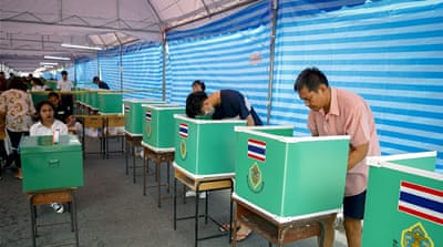 Thailand goes to polls as coup leader eyes return to power