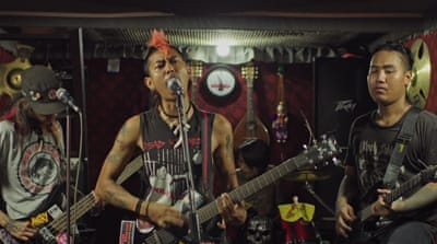 'Scream for human rights': Punks, monks and politics in Myanmar