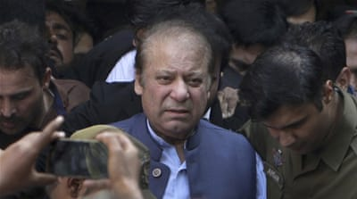 Pakistan's top court grants bail to former PM Nawaz Sharif