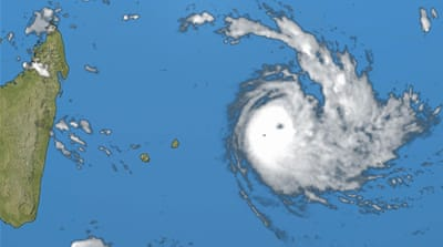 Tropical Cyclone Joaninha slams Indian Ocean island of Rodrigues