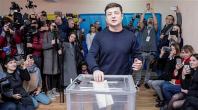 Who will be Ukraine's next president?