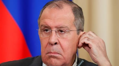 Russian Foreign Minister Sergey Lavrov to hold talks in Qatar
