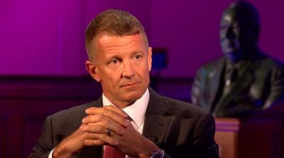 Erik Prince acknowledges 2016 Trump Tower meeting for first time