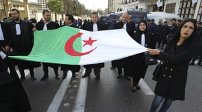 Algeria opposition parties discuss ways to challenge Bouteflika