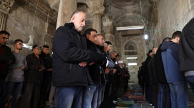 Al-Aqsa compound 'calm' for Friday prayers amid tensions
