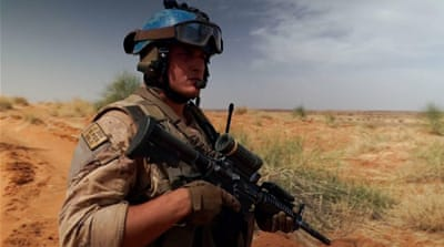 Why are peacekeepers leaving Mali?