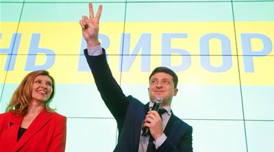 Zelenskyy to face Poroshenko in Ukraine runoff