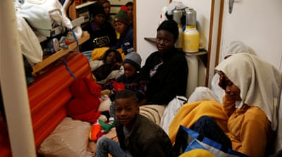Rescued refugees allowed to disembark in Malta, go on to Europe