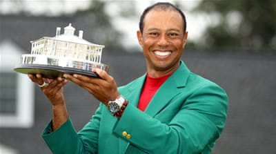Trump announces presidential award for Woods after Masters win