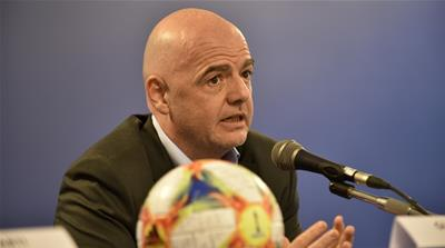 FIFA chief Infantino holds World Cup expansion talks in Kuwait