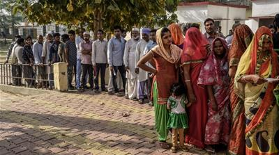 Allegations of mass voter exclusion cast shadow on India election
