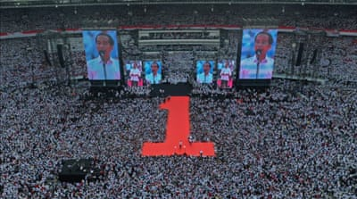 Indonesia election: Widodo, Prabowo vie for presidency