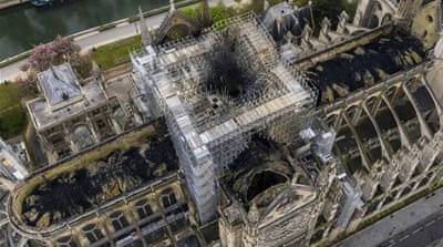 Bells of French cathedrals ring in solemn tribute to Notre Dame