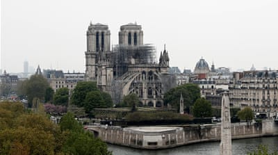Over $560m pledged to restore Notre Dame Cathedral in Paris