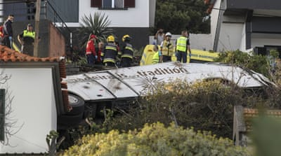 Portugal bus crash: Dozens killed on Madeira island