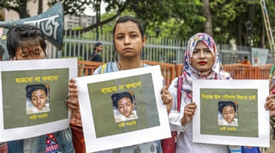 Bangladesh student burned to death for reporting sexual abuse