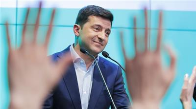 What's next for Ukraine under comic-turned-president?