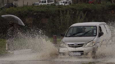 South Africa floods, mudslides kill at least 23