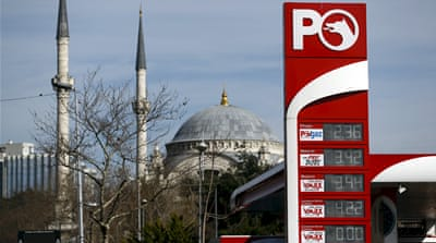 Turkey faces hike in oil prices as US thwarts Iran oil sales