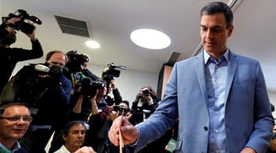 Who is Pedro Sanchez, leader of Spain's Socialist Workers' Party?
