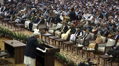Ghani opens meeting in Kabul to discuss Taliban peace talks