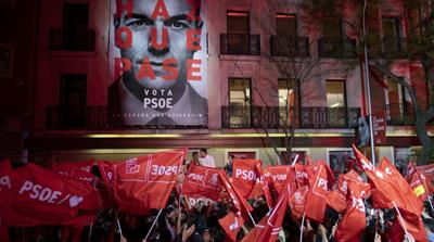 Spain's Socialists dominate vote but new government uncertain