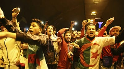 Algeria: Joyous scenes of celebration after Bouteflika resigns