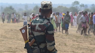 Chhattisgarh: Maoists kill Indian soldiers days before polls