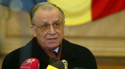 Romania's ex-leader Iliescu charged over 1989 uprising