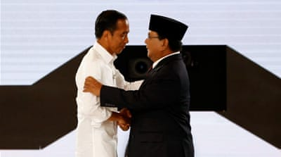 Overseas Indonesians vote for country's next president