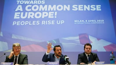 New far-right coalition forms before European Parliament vote