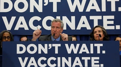 New York City orders mandatory measles vaccines for some