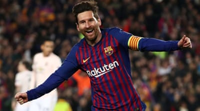 Klopp says Messi 'best player ever' ahead of Barcelona match