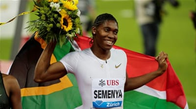 Caster Semenya to run in Doha after controversial ruling