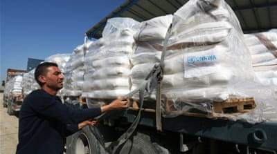 UN: Palestinian food aid threatened by 'serious funding crisis'