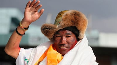 Nepal climber scales Mount Everest for record 24th time