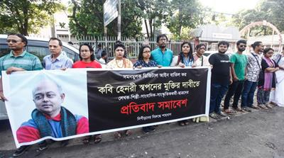 Free speech concerns in Bangladesh as writers, activist arrested
