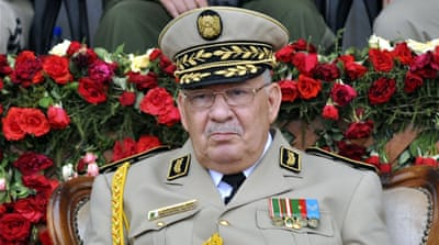 Algeria army chief demands presidential election by December