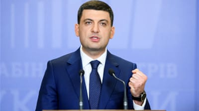 Ukraine's prime minister resigns in protest