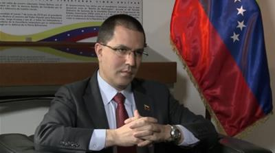Venezuela's Jorge Arreaza: 'There is no perfect government'