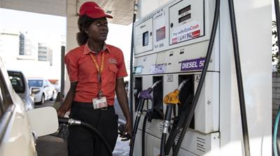 Zimbabwe increases fuel prices as economic crisis deepens
