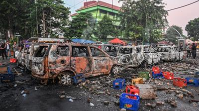 Deadly protests continue in Indonesia after Jokowi's election win