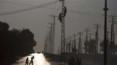 Pakistani electricity company workers