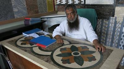 Pakistan electricity marble seller Asad Hashim