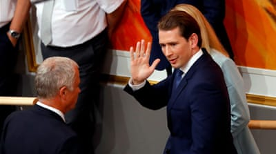 Sebastian Kurz riding high despite Austrian ousting