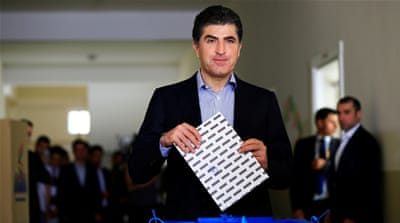Nechirvan Barzani elected president of Iraq's Kurdish region